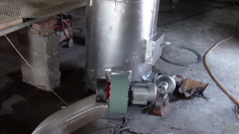 高效管热型热风炉设计图纸